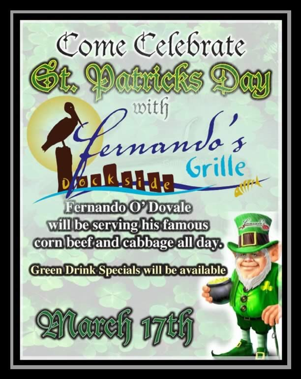St Patrick's Day at Fernando's
